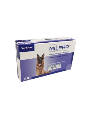 Milpro tableta 12.5mg /125mg za pse