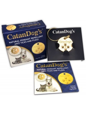 Catan Dogs medaljon protiv buva za pse