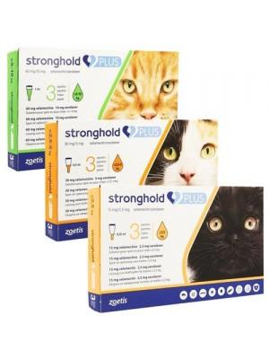 Stronghold plus 15 protiv spoljnih i unutrašnjih parazita macaka do 2.5kg