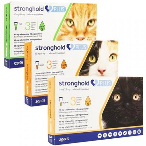 Stronghold plus 60 protiv spoljnih i unutrašnjih parazita mačaka 5-10kg- Nema na stanju